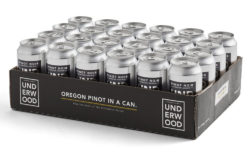 At first sight one would hardly notice that this is canned wine rather than beer cans. Photo: unionwinecomany.com