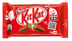 Allround customer focus during a KitKat break. Collaboration between Nestlé and Google matches the trend towards digitisation. Photo: Nestlé UK