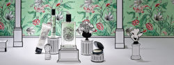 18th-century elegance: the Paris parfumeur Diptyque launches special packaging for Valentine's Day. Photo: Diptyque Paris