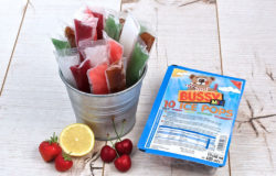 Water ice has been sold in Germany since the 70s in plastic strips. Photo: Busemann GmbH