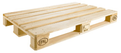 In Germany some 80 million EPAL euro pallets have been produced since August 2013. This totals over two billion kilograms in saved CO2. Photo: EPAL