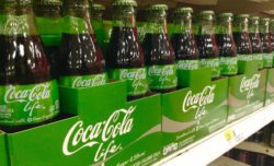 'Coca Cola Life Stevia' received the German Packaging Award in September 2015. © Mike Mozart / Flickr.com