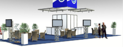 Foto: Design of a trade fair stand