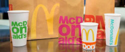 By 2025 McDonald's wants to use packaging materials from renewable, recycled or certified sources only and to reuse all retail packaging. Photo: McDonald's Deutschland LLC
