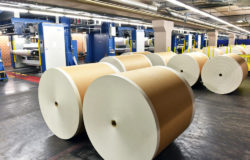 Raw material prices for paper production have risen starkly. Photo: File: #178805760 | Copyright: industrieblick / fotolia.com