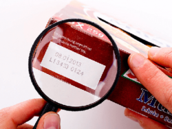 Accurate predictions of the best-before date can help towards food safety. Photo: Best-before date © shootingankauf, fotolia.com