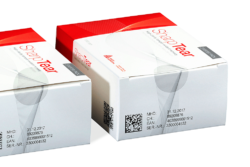 Serialised packaging with tamper evidence. Photo: Bluhm Systeme GmbH