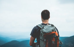 Would you like a new hiking backpack? That'll be 22 PET bottles, please. Source: Forum PET. Photo: unsplash.com  / pexels.com