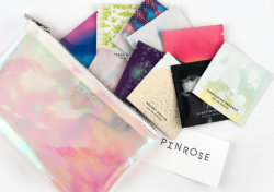 The colourfully packed Pinrose perfume tissues of the special edition come in a pretty zipper bag. Photo: Pinrose