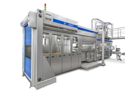 The new Robotic Magazine (R-CAM) for high-speed filling machines from SIG Combibloc is a decisive step towards more automation. © SIG Combibloc © SIG Combibloc