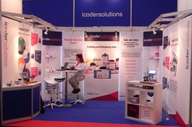 icodersolutions interpack stand, X200 TIJ, coding and marking, inks