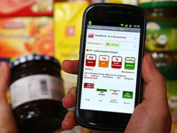 Even EAN codes, QR codes and ISBN numbers can provide information on the nutritional values of food. Photo: barcoo / flickr.com