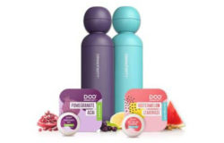 Two Drinkfinity bottles and two flavoured pods