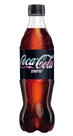 Coca-Cola Zero bottle