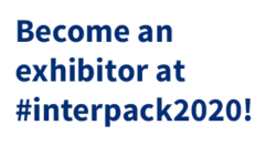 Become an exhibitor at #interpack2020!