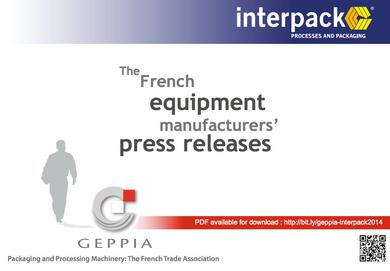 Interpack 2014 French OEM press release
