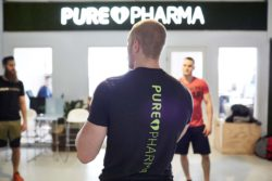 PurePharma's employees believe in their products. With body and soul. With the body probably a little more.