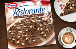 Be they sweet or savoury: deep-frozen pizzas are popular. In 2016 some 304,000 tons of deep-frozen pizza were sold in Germany. Photo: Dr. Oetker