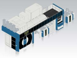 The new NEO XD LR from KBA-Flexotecnica will have its première at this year's drupa.  © KBA
