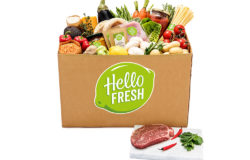 Cooking boxes are also popular. They contain the exact ingredients required to cook the meal at home – including the recipe. Photo: HelloFresh