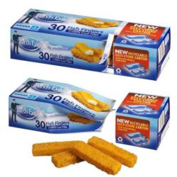Re-closable fish finger packaging © A&R Carton