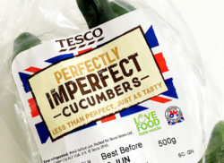 The UK supermarket chain Tesco's have a new product range: Perfectly Imperfect. It simply means selling any wonky or otherwise less attractive fruit and veg that would normally end up in the bin.