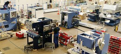 Manufacturing over 200 machines per year