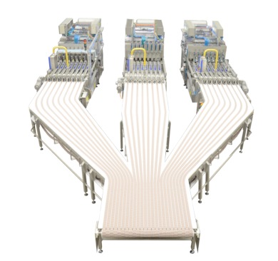 SCA - Packaging line for stackable chips