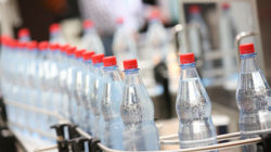 PET plastic bottles are very easy to process and re-use. Photo: Messe Düsseldorf, Constanze Tillmann