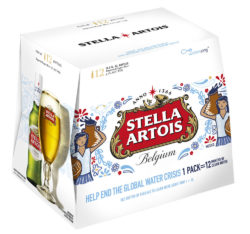 Access to clean water cannot be taken for granted. When customers buy a 12-pack of Stella Artois beer they can support people in developing countries. Photo: Stella Artois/Annheuser-Busch