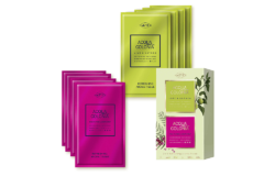 To match the Acqua Colonia fragrance line there are refreshment tissue in pink and lime green. Photo: 4711