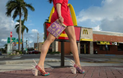 McDonald's last make-over of its food packaging was staged spectacularly in 2016. Photo: Juan Pablo Castro for McDonald's