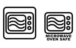 Products bearing this symbol come in packaging that is fit for heating in a micro-wave oven. Photo: #206300110, Lubo / fotolia.com