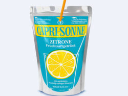 50 years of Capri-Sonne – the lemon classic is back on our shelves. Photo: Capri-Sun