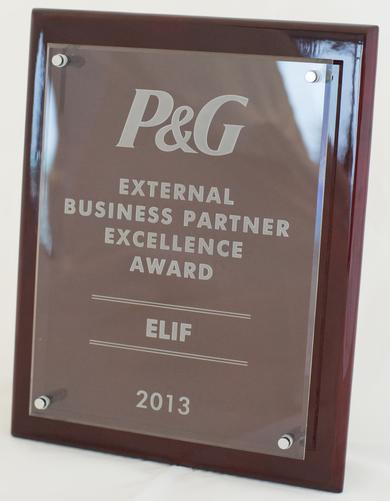 Elif-Procter-and-gamble-external-business-partner-excellence-award