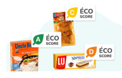 Uncle Bens Rice Packaging, Cookies Packaging, Roti Packaging with Eco Score Labels
