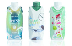 Consumers increasingly demand packaging that is recyclable. Photo: Coconut water in Tetra Prisma® Aseptic carton packs. Photo: TetraPak