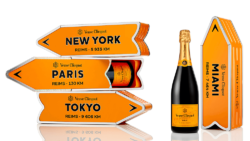 Photo: Veuve Cliquot, http://www.ilmaestrale.net/lifestyle/food-and-wine/331-veuve-clicquot-arrow-lo-champagne-va-in-viaggio