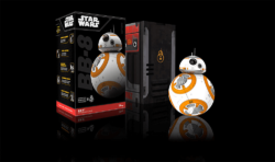 Box in a Box: Packaging plays a prominent role with this Star Wars toy. Photo: Sphero