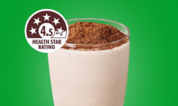 Nestlé's chocolate drink Milo sports 4.5 stars – provided it is prepared with low-fat milk. Photo: Copyright 2016 © Nestlé. All rights reserved.