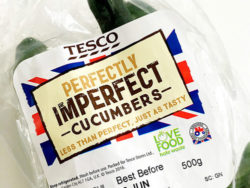 The UK supermarket chain Tesco's have a new product range: Perfectly Imperfect. Photo: Tesco PLC