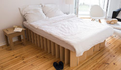 Cardboard Bed Cardboard Furniture Interpack