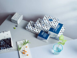 Green packaging with bio-based recyclable print